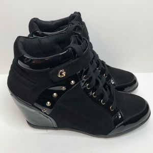 Guess Popstar Wedge Sneakers